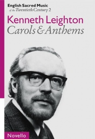 English Sacred Music Of The 20th Century 2: Leighton Carols And Anthems published by Novello