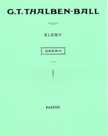 Thalben-Ball: Elegy for Organ published by Novello