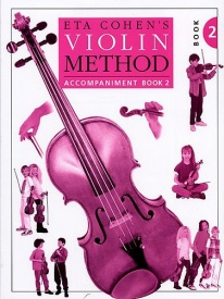 Eta Cohen: Violin Method Book 2 - Piano Accompaniment published by Novello