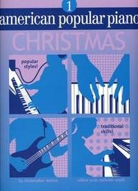 American Popular Piano Christmas Level 1 published by Novus