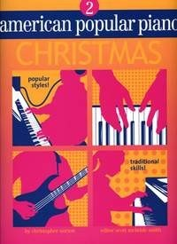 American Popular Piano Christmas Level 2 published by Novus