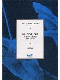 Arnold: Sonatina Opus 41 for Treble Recorder published by Paterson