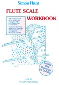 Hunt: Flute Scale Workbook published by Pan Educational Music