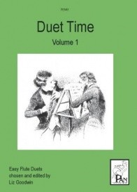 Duet Time Volume 1 for Flute published by Pan