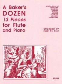 A Baker's Dozen for Flute & Piano published by Pan
