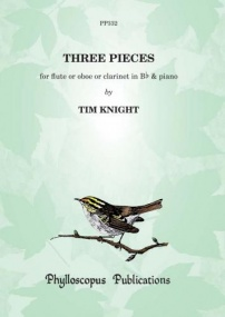 Knight: Three Pieces for Woodwind Instrument and Piano published by Phylloscopus