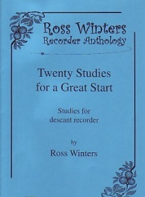Winters: 20 Studies for a Great Start for Recorder published by Peacock Press