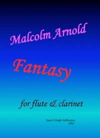 Arnold: Fantasy for flute & clarinet published by Queens' Temple