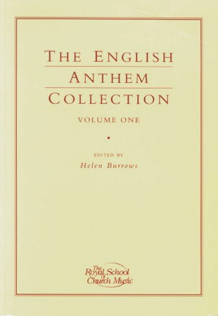 English Anthem Collection 1 SATB published by RSCM