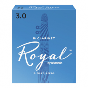 Royal by D'Addario Bb Clarinet Reeds (Pack of 10)