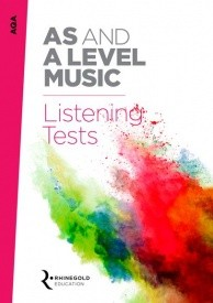 AQA AS And A Level Music Listening Tests published by Rhinegold
