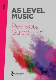 AQA AS Level Music Revision Guide published by Rhinegold