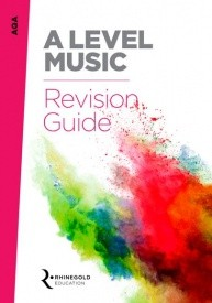 AQA A Level Music Revision Guide published by Rhinegold