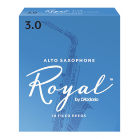 Royal by D'Addario Alto Saxophone Reeds (Pack of 10)