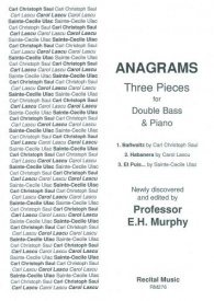 Anagrams - Three Pieces for Double Bass published by Recital