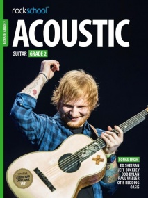 Rockschool Acoustic Guitar - Grade 2 (2016+) (Book/Online Audio)