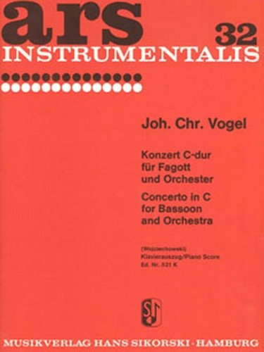 Vogel: Concerto In C Major for Bassoon published by Sikorski