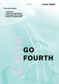 Taylor: Go Fourth - Position changing for the Cello (Book & CD) published by Spartan