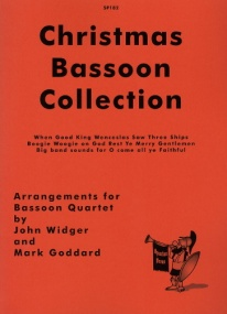 Christmas Bassoon Collection for Bassoon Quartet published by Spartan Press
