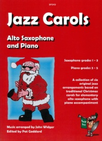 Jazz Carols for Alto Saxophone published by Spartan