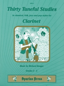 Benger: 30 Tuneful Studies for Clarinet published by Spartan Press
