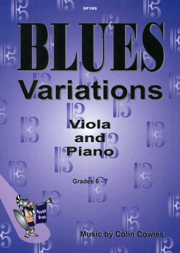 Blues Variations for Viola published by Spartan Press