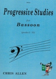 Allen: Progressive Studies for Bassoon published by Spartan