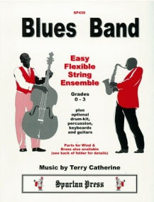 Blues Band for Easy Flexible String Ensemble published by Spartan