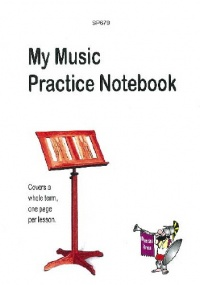 My Music Practice Notebook published by Spartan Press