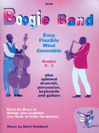 Boogie Band for Easy Flexible Wind Ensemble published by Spartan