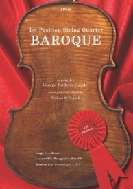 1st Position String Quartet: Baroque published by Spartan Press