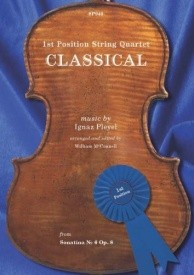 1st Position String Quartet: Classical published by Spartan Press