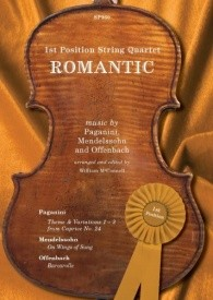 1st Position String Quartet: Romantic published by Spartan Press