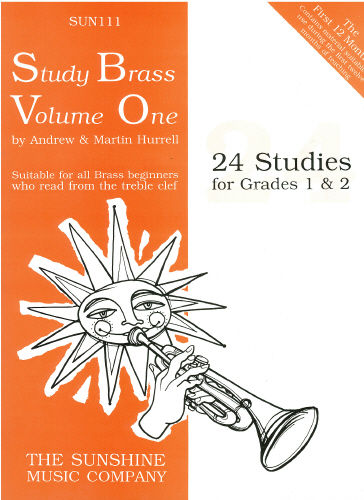 Hurrell: Study Brass Volume 1 for Treble Brass published by Sunshine Music