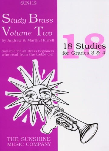 Hurrell: Study Brass Volume 2 for Treble Brass published by Sunshine Music