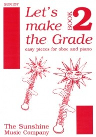 Let's Make The Grade Book 2 for Oboe & Piano published by Sunshine