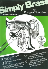 Coombes: Simply Brass for Trumpet Book & CD published by Brasswind
