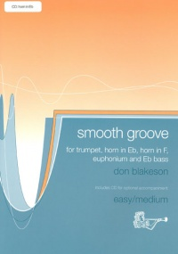 Blakeson: Smooth Groove for Horn in Eb Book & CD published by Brasswind
