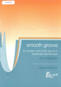 Blakeson: Smooth Groove for Horn in F Book & CD published by Brasswind