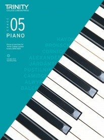 Trinity College London: Piano Exam Pieces & Exercises 2018-2020 - Grade 5 (Book/CD)