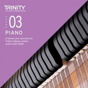 Trinity College London: Piano Exam Pieces & Exercises 2021-2023 - Grade 3 (CD Only)
