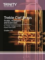 Scales and Exercises for Treble Clef Brass from 2015 published by Trinity