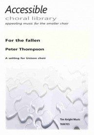 For the Fallen Unison by Thompson published by Knight Music