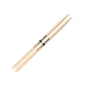 Promark: Classic Hickory 5A Nylon Tip Drumsticks