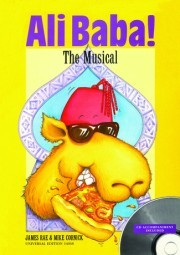 Ali Baba The Musical Book & CD published by Universal
