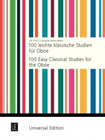 100 Easy Classical Studies for Oboe published by Universal Edition