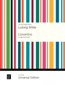 Concertino by Milde for Bassoon published by Universal Edition