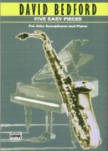 Bedford: Five Easy Pieces for Alto Saxophone published by Universal