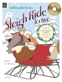 Sleigh Ride For Two - Piano Duets published by Universal