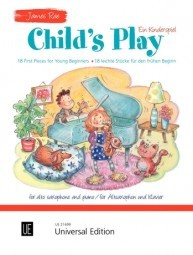 Rae: Child's Play for Alto Saxophone published by Universal